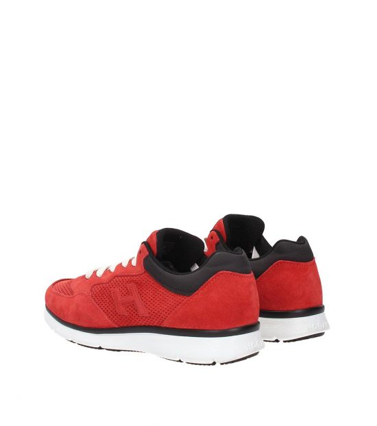 Hogan Red Classic Sneakers