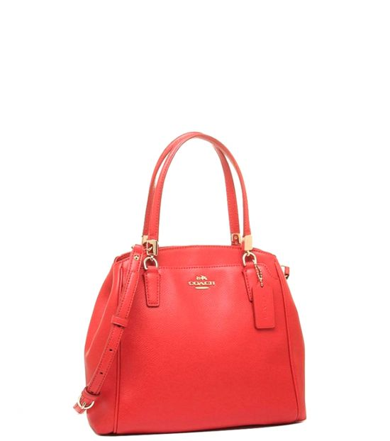 Coach Orange Minetta Small Satchel