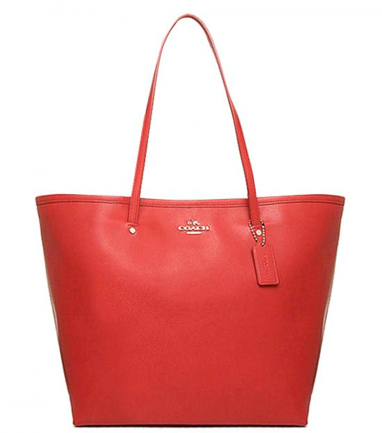 Coach Orange Classic Large Tote