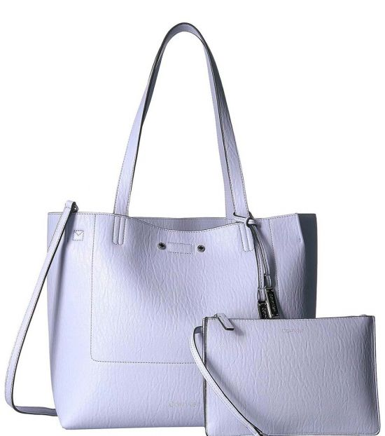 Calvin Klein Ice Blue Bubble Novelty Large Tote