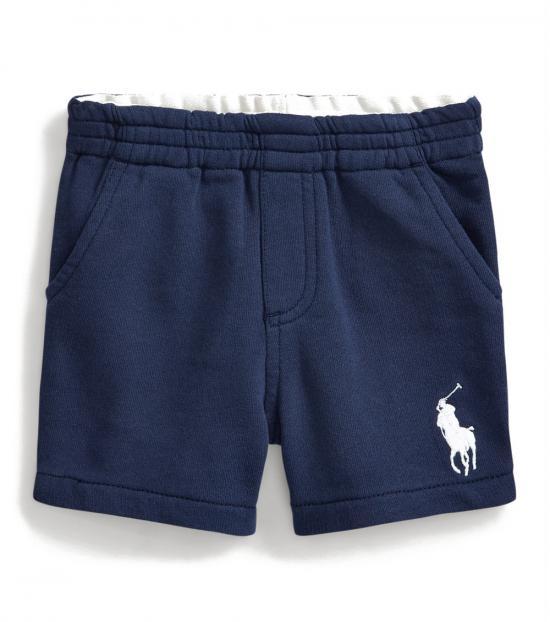 Ralph Lauren Baby Boys Newport Navy Big Pony Shorts