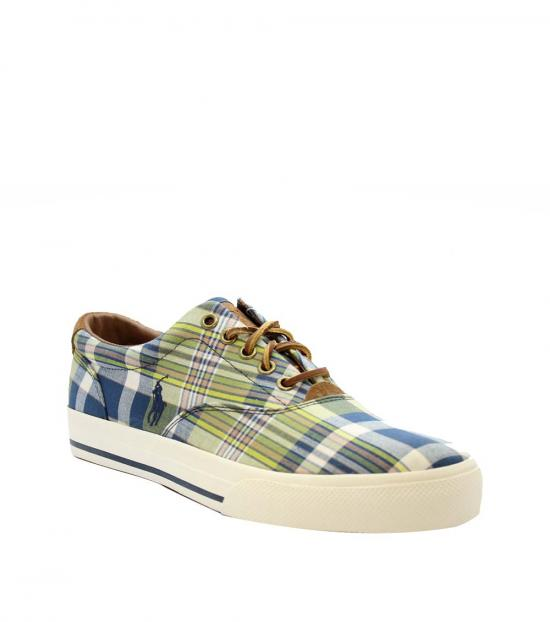 Ralph Lauren Multicolor Vaughn Canvas Sneakers