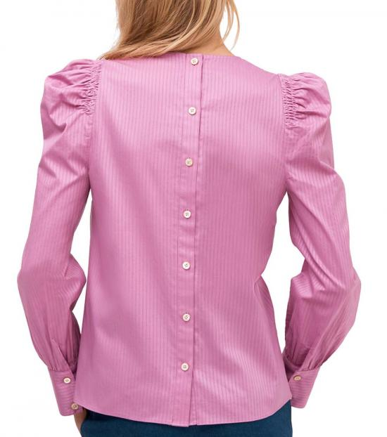 Kate Spade Ruffled Pansy Puff Sleeve Blouse