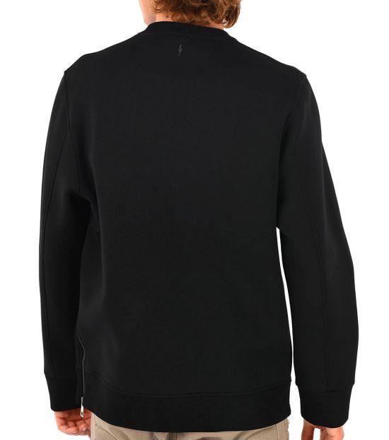 Neil Barrett Black Piercing Sweatshirt