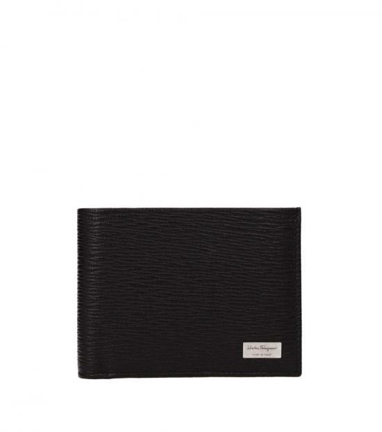 Salvatore Ferragamo Brown Logo Voguish Wallet