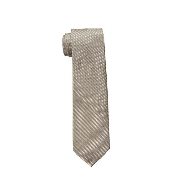 Michael Kors Brown Dapper Geo Slim Silk Tie