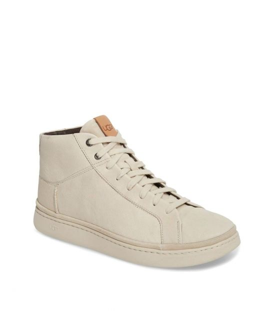 UGG White Cali High Top Sneakers