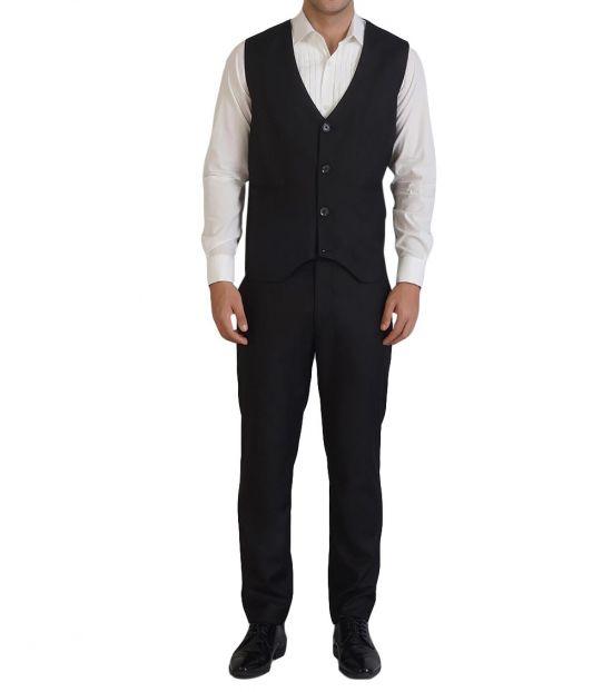 Self Stitch Self Stitch's Classic Black Waistcoat