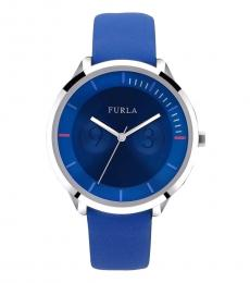 Furla Blue Metropolis Watch