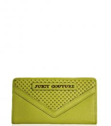 Juicy Couture Yellow Continental Wallet