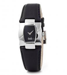 Black Tonneau Sophisticated Watch