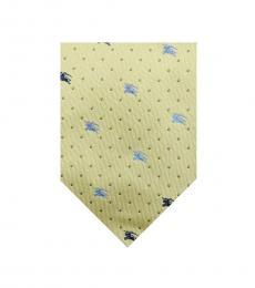Burberry Yellow Modish Dot Tie