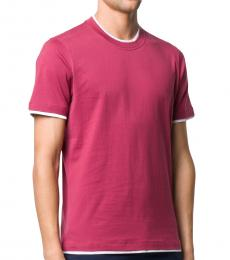 Pink Slim Fit T-Shirt