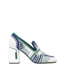 White Resort Heels