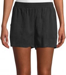 Black Noah Pull-On Shorts