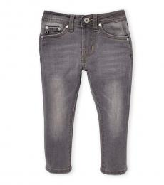 AG Adriano Goldschmied Baby Girls Graphite Stryker Straight Jeans