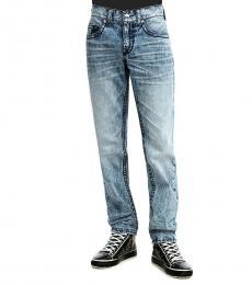True Religion Indigo Rocco Relaxed Skinny Jeans