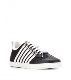 Black Side Band Sneakers