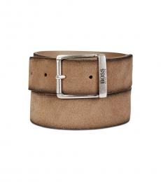 Hugo Boss Light Pastel Brown Joni Belt