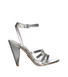 Silver Kimmy Heels