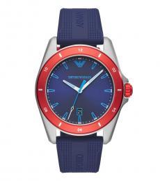 Emporio Armani Blue Sigma Modish Watch