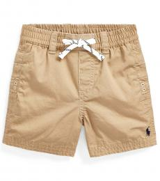 Ralph Lauren Baby Boys Boating Khaki Pull-On Shorts