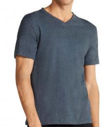 Vince Camuto Navy Blue V-Neck Lounge T-Shirt