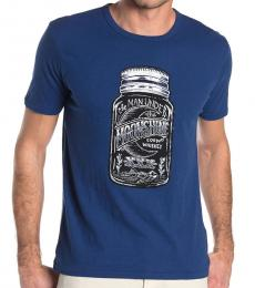 Dark Blue Moonshine Mason T-Shirt