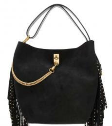 Givenchy Black Fringed Medium Hobo