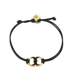 Tory Burch Black Embrace Ambition Bracelet