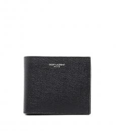 Saint Laurent Black Logo wallet