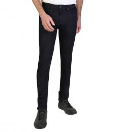 Armani Jeans Navy Blue Slim Fit Jeans
