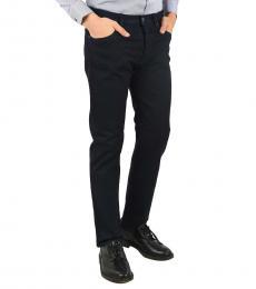 Armani Jeans Navy Blue Stretch Denim Jeans