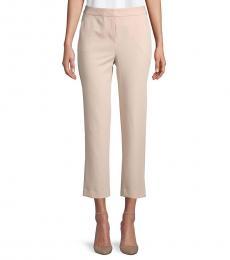 BCBGMaxazria Bare Pink High-Waist Pants