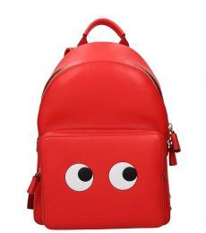 Anya Hindmarch Red Eyes Medium Backpack