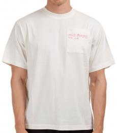 McQ Alexander McQueen White Genesis Relaxed Fit T-Shirt