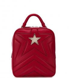 Stella McCartney Red Star Small Backpack