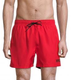 Hugo Boss Red Haiti Swim Shorts