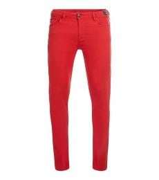 Versace Jeans Red Slim Fit Jeans