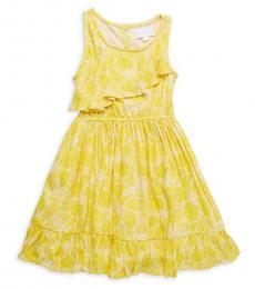 BCBGirls Little Girls Aurora Ruffle Floral Dress