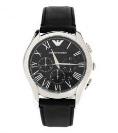 Emporio Armani Black Classic Chronograph Watch