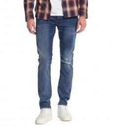 Diesel Blue Thommer Slim Leg Jeans