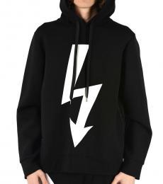 Neil Barrett Black Thunder Printed Sweatshirt