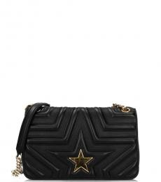 Stella McCartney Black Star Small Shoulder Bag