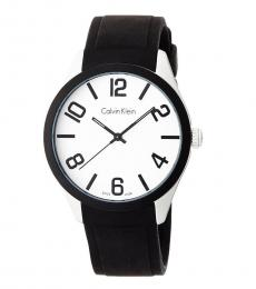 Calvin Klein Black White Dial Watch