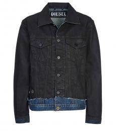 Diesel Black Denim Jacket