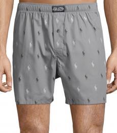 Ralph Lauren Mushroom Grey Woven Boxers