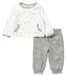 Calvin Klein 2 Piece Cardigan/Pants Set (Baby Boys)