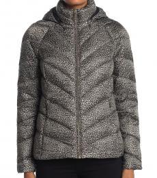 Michael Kors Black Short Packable Puffer Jacket