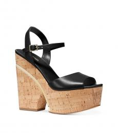 Michael Kors Black Lana Platform Dress Heels